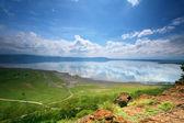 Peaceful view on the lake Nakuru — Stock Photo