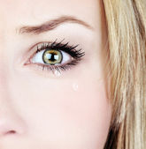 Crying woman — Stock Photo