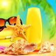 Summertime holidays background — Foto Stock