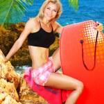 Summer fun on the beach — Stock Photo #6114337
