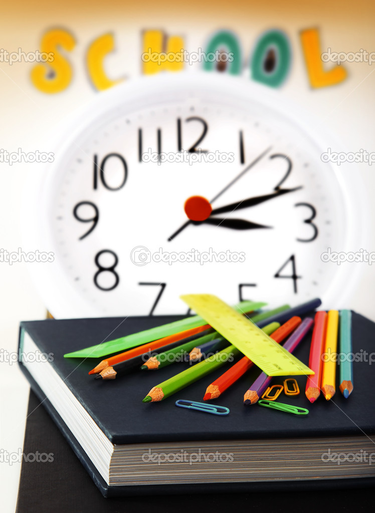 School time conceptual image of education & knowledge — Stock Photo #6167633