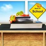 zurück in der Schule — Stockfoto