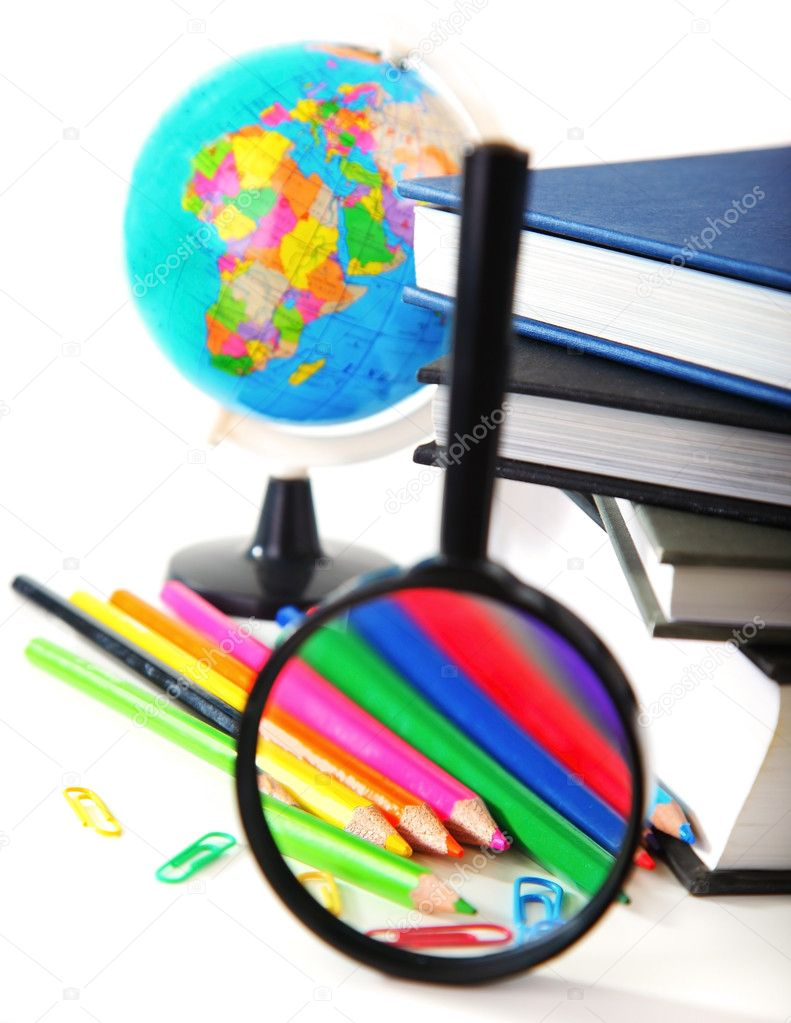 Study time conceptual image of education & knowledge — Stock Photo #6232322