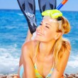 Summer fun on the beach — Stock Photo #6377412