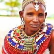 African tribal woman — Stockfoto