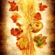 Grunge autumn background — Stok fotoğraf