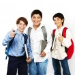 Happy schoolboys - Foto Stock