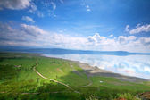 Peaceful view on the lake Nakuru — Stock Photo