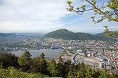 Motorway junctions in bergen — Stock Photo
