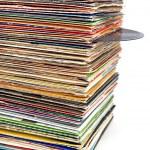 Old vinyl records — Stock Photo #6450512