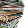 Vinyl records — Stock Photo #6450526