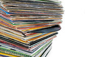 Vinyl records — Stock Photo
