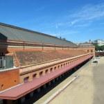 Atocha station spain car park side — Stock Photo