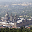 Nice view of the Palacio de Sal Lorenzo del Escorial in Madrid S — Stock Photo