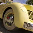 "Stock Photo: Madrid 3 Jul ""Party old Classic car"" Cord 812 Roadster 1937"