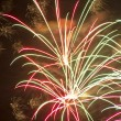 Stock Photo: Fireworks beautiful bright colors and shapes