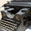 Stock Photo: Typewriter 30 years old