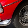 "Madrid 3 Jul ""Party old Classic car""  Triumph speedfire 1500 — Stock Photo"