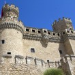 Medieval castle in Manzanares del Real, Spain — Stock Photo