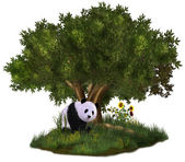 Cute Panda — Stock Photo