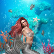 Stock Photo: Magic Mermaid