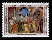 Postage stamp. — Stockfoto
