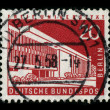 Foto Stock: Postage stamp.