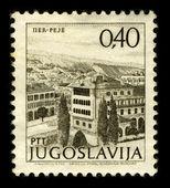 Postage stamp. — Stock Photo