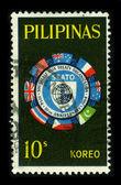 Postage stamp. — 图库照片