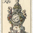 Stock Photo: Czechoslovaki- CIRC1979: stamp printed in Czechoslovakis