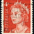 Postage stamp. - Foto Stock