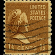 Stock Photo: Postage stamp.