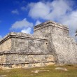 Ancient Tulum Mayan ruins Mexico Quintana Roo — Stock Photo