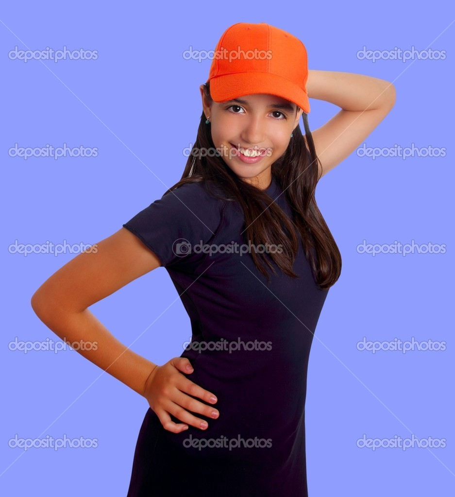 depositphotos 5398258 Beautiful Latin teen hispanic girl orange cap posing A comedy about a man with a very small penis...and a very big heart.
