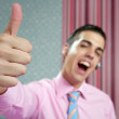 Royalty-Free Stock Photo: Businessman young with okay hand sign