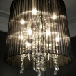 Vintage chandelier lamp - Stock Photo