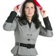 Businesswoman teacher woman busy upset — Stock Photo