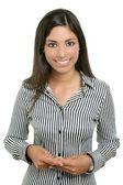 Schattige jonge vrouw student zakenvrouw — Stockfoto