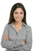 Brunette from India bussinesswoman student — Stock Photo
