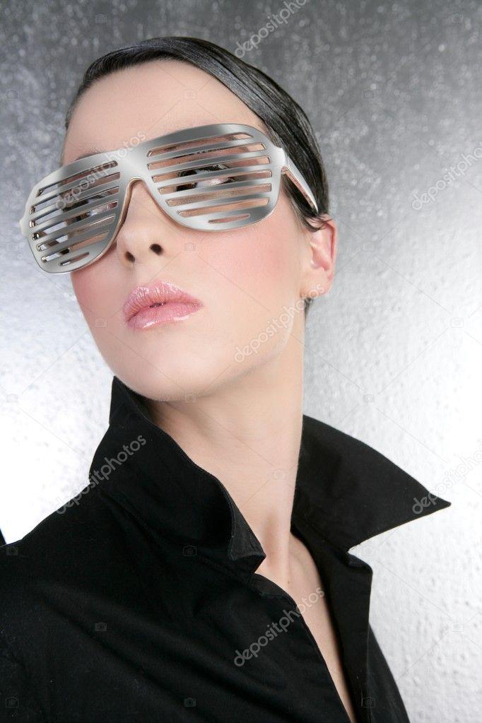 Futuristic Glasses Fashion Fashion Woman Futuristic Steel