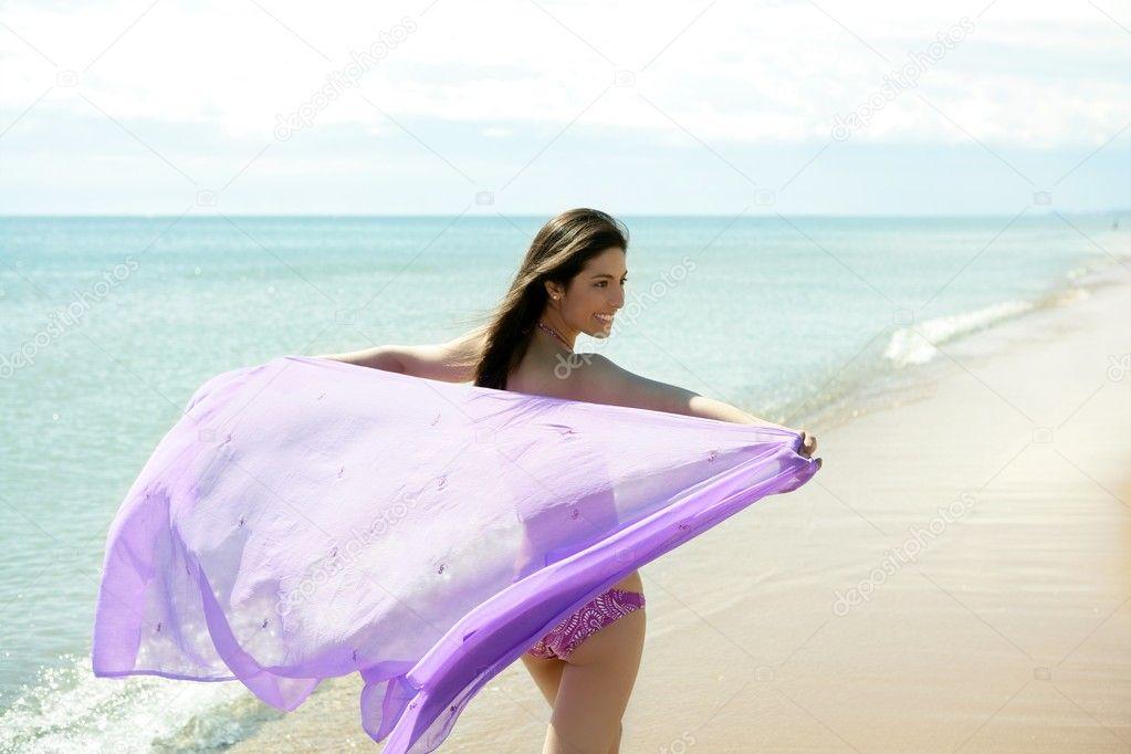 depositphotos 5498054 Beautiful woman running in bikini on the beach Young Teen Nudist Gallery Sex Teen Tgp