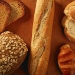 Varied bread still life — Stock Photo #5500604
