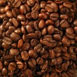 Toasted coffe beans texture - Stock Photo