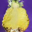 Stock Photo: Pineapple with selective focus