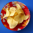 Potato fried chips - Stock Photo