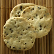 Sesame seeds biscuits - Foto Stock
