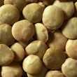 Lentils macro crop texture in brown color - Stock Photo