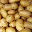 Royalty-Free Stock Photo: Potatoes raw pattern in the market