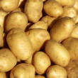 Stock Photo: Poratoes many in market stand yellow brown