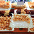 Cake pastries in bakery typical from Spain - Stock Photo